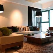 北欧风格家庭客厅装饰