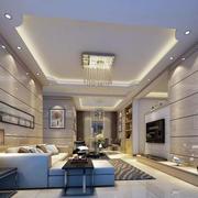 三室两厅简约风格客厅装修
