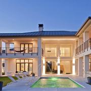 欧式大型别墅外观图