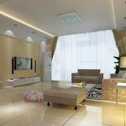 现代简约风格新房电视背景墙