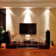 90平米房屋客厅电视背景墙