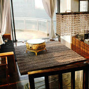 东南亚露台桌椅效果图