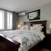 两居室卧室简约吊顶设计