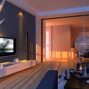 现代风格客厅电视柜