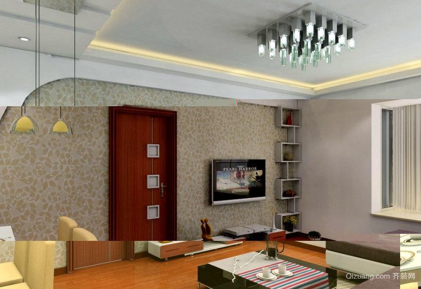 精美别致的客厅石膏板吊顶装修效果图欣赏大全