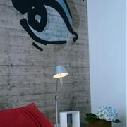 卧室床头灯装修背景墙