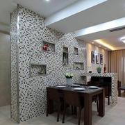 简约风格石制客厅背景墙设计