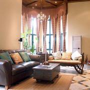 东南亚露台大型飘窗设计