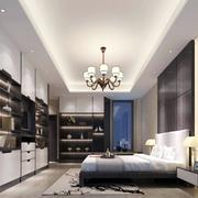 复式楼卧室吊顶装饰