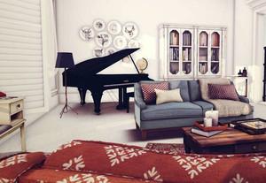 简约风格室内客厅设计