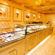 欧式奢华蛋糕店装饰