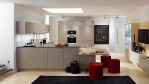 公寓开放式小厨房设计
