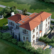 别墅俯视装修设计