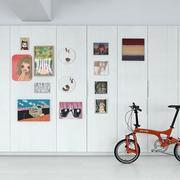 loft公寓照片墙效果图