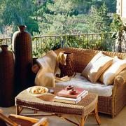 东南亚露台沙发设计