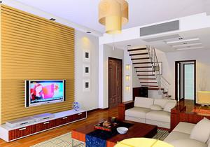 现代简约风格家庭客厅装饰
