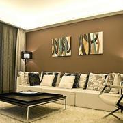 北欧风格客厅地毯设计