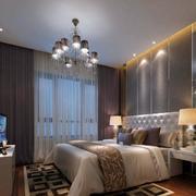 美式卧室灯饰设计
