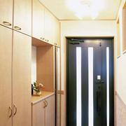 日式玄关整体橱柜装饰