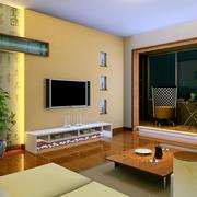 新房客厅地板设计