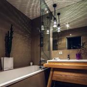 公寓卫生间隔断装饰