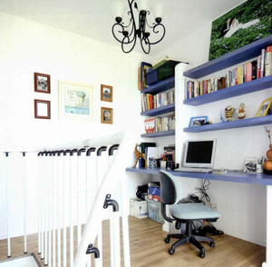 loft公寓书房装修