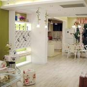 韩式田园风格客厅装饰
