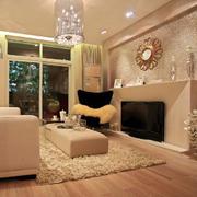 欧式奢华客厅背景墙装修