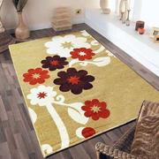 简约风格印花客厅地毯