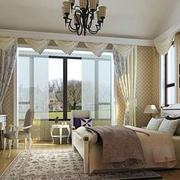 欧式奢华卧室精美飘窗装修