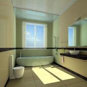 简约风格卫生间窗户设计