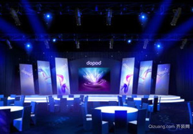 2015全新现代简约风格舞台背景设计效果图