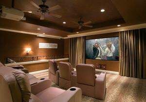 大户型高档家装都市家庭影院音响装修效果图欣赏大全图集
