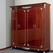 欧式红木衣柜效果图