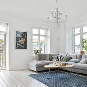 简约风格L型沙发设计