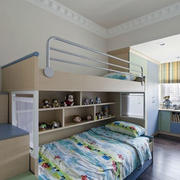 现代简约风格儿童房装修