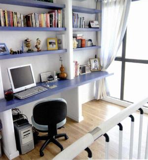 小户型简约书房设计