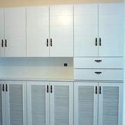 简约白色柜子设计