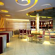 中式快餐店吧台设计