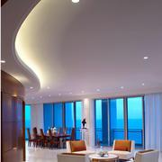 大型餐厅led灯装饰