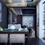 后现代风格客厅餐桌设计