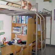 宿舍双人床装饰