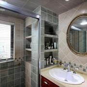 三室两厅卫生间洗漱池设计