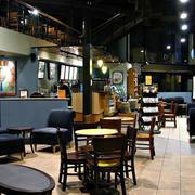 复古咖啡馆吧台装饰