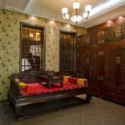 中式古典床饰