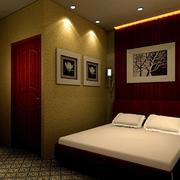 浴室休息是背景墙设计