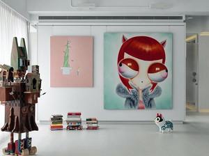 生活就是艺术:宛如艺术馆的loft风格公寓装修效果图