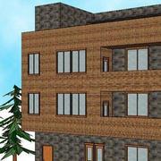 农村三层简约楼房设计