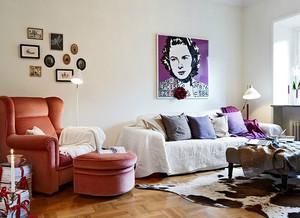 公寓客厅沙发设计