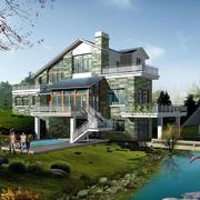 靠近河边别墅装修设计